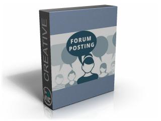Forum Posting Service